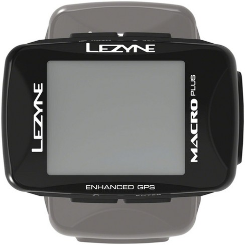 Lezyne Macro Plus GPS Loaded Bike Computer GPS Wireless Heart Rate Speed Cadence - image 1 of 4