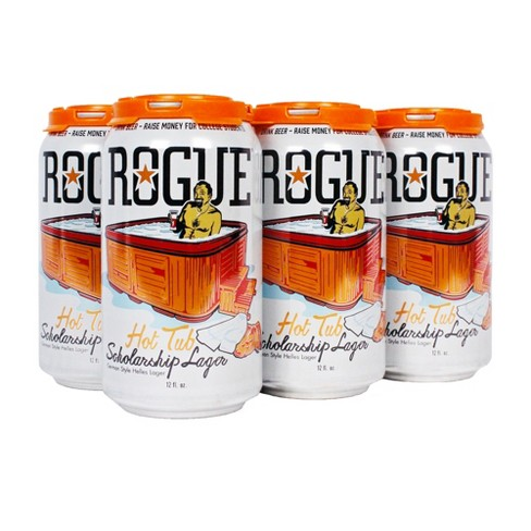 Rogue Hot Tub Scholarship Lager - 6pk / 12 fl oz Cans - image 1 of 1