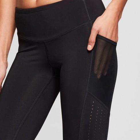 9ad9c78806ee83 Women's Training High-Waisted Laser Cut Capri Leggings 22