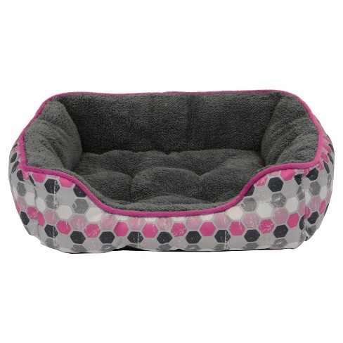 Dallas Box Bed for Cats & Small Dogs - Pink - 19'' - image 1 of 1
