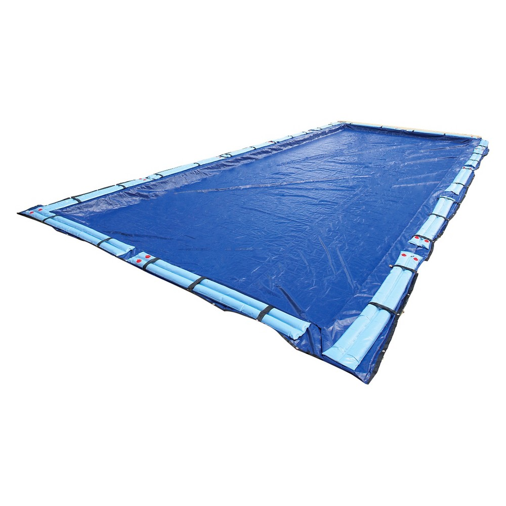 Blue Wave Gold 15-Year 16-ft x 32-ft Rect. In-Ground Pool Winter Cover, Multicolored