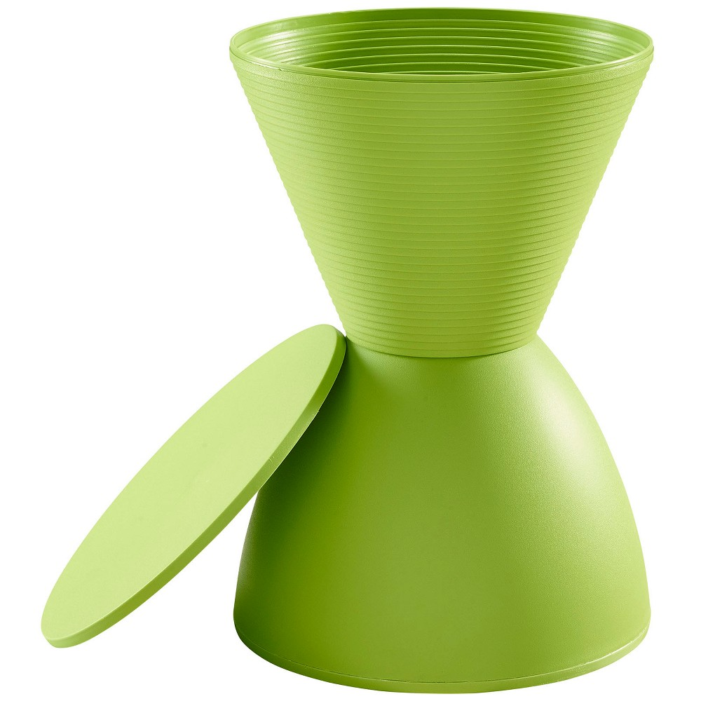 Image of Haste Stool Green - Modway
