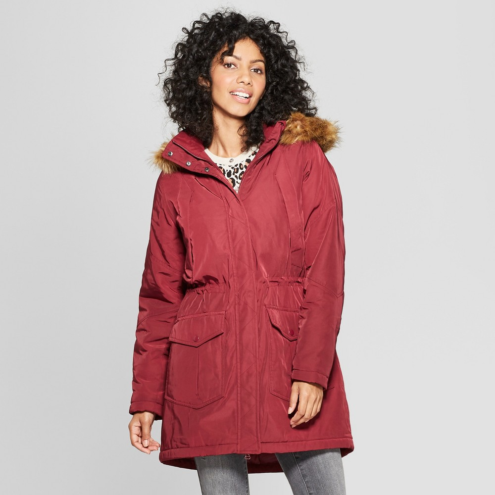 Women's Arctic Parka - A New Day Burgundy (Red) L