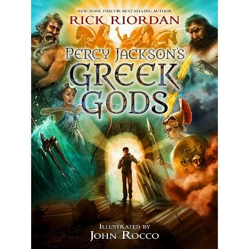 percy jackson s greek gods hardcover by rick riordan target