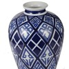 Valora Blue and White Vase - A&B Home - image 4 of 4