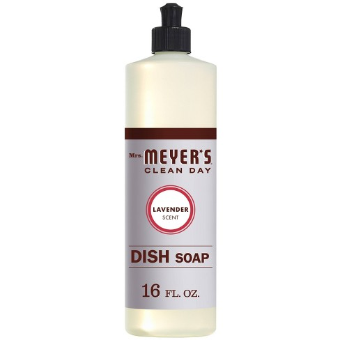 Mrs. Meyer's Clean Day Lavender Scent Liquid Dish Soap - 16oz - image 1 of 4