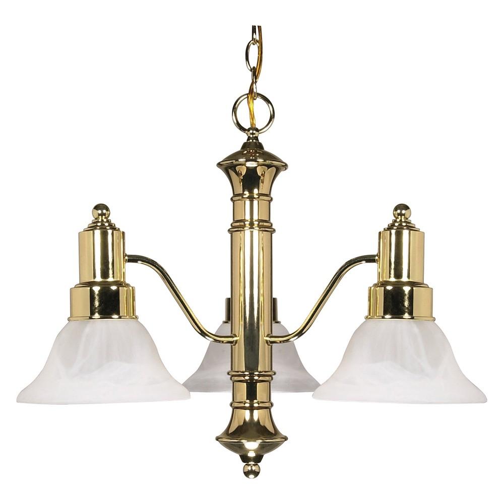 Ceiling Lights Chandelier Polished Brass - Aurora Lighting