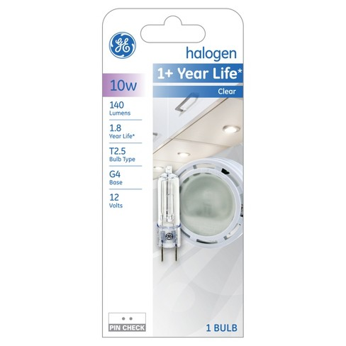 GE 10-Watt T3 Appliance Halogen Light Bulb - Clear - image 1 of 2