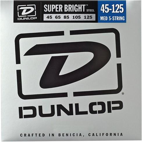 Dunlop Super Bright Steel Medium 5-String Bass Guitar Strings - image 1 of 1
