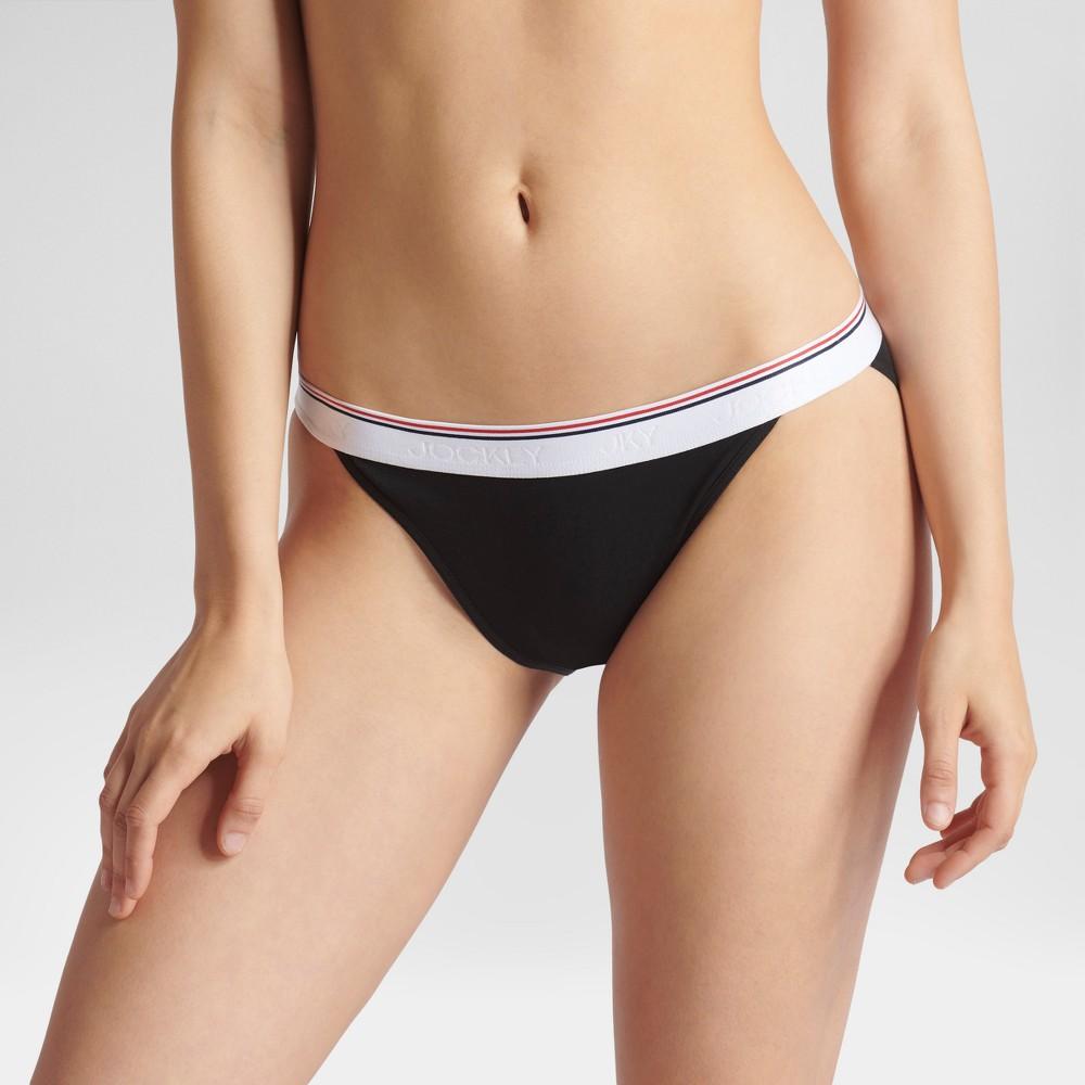 Jky by Jockey Women's Retro Vibes String Bikini Briefs - Black L