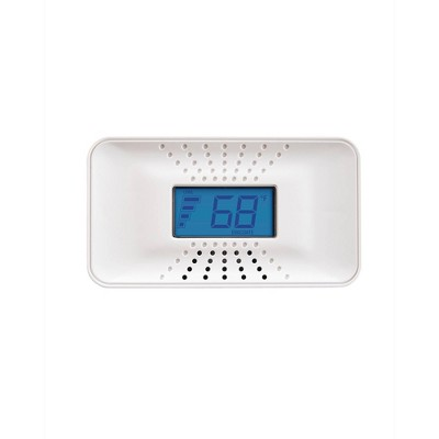 First Alert CO710 Carbon Monoxide Detector with Digital Temperature Display