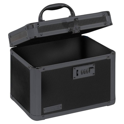 Vaultz Personal Storage Box with Combination Lock - Black - image 1 of 4