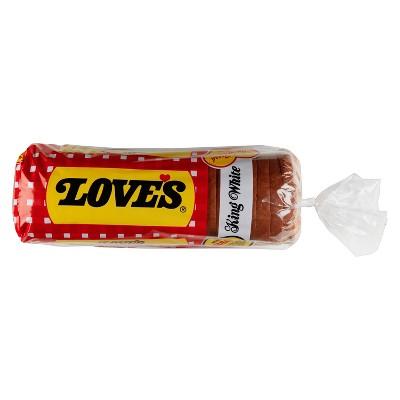 Love's King White Bread - 16oz