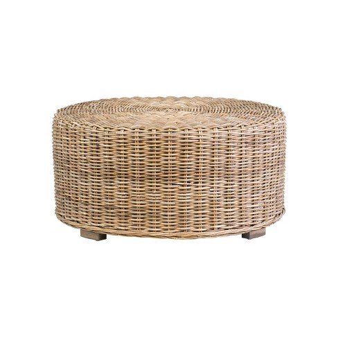 Langdon Rattan Coffee Table Natural Finish East At Main