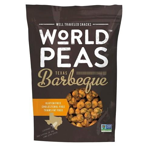 World Peas Barbeque Green Peas 5.3 oz - image 1 of 1