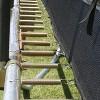Skywalker Trampolines 15' Square Trampoline with Enclosure - Blue - image 3 of 4