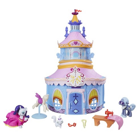 My Little Pony Friendship Is Magic Collection Rarity Carousel Boutique Set - image 1 of 3