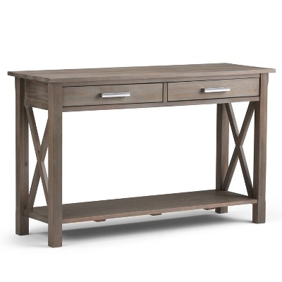 "47"" Waterloo Contemporary Console Sofa Table - Wyndenhall"