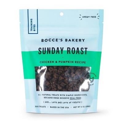 Bocce's Bakery Sunday Roast Training Dog Treats - 6oz