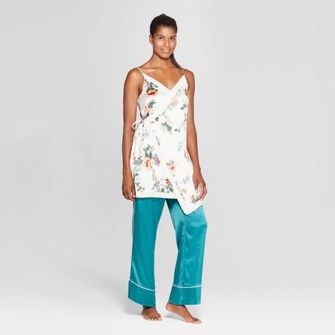 0a86bd3b93a1 Women s Floral Print Satin Nightgown - Gilligan   O Malley™ Cream S ...