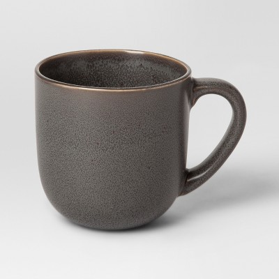 13oz Stoneware Tilley Mug Black - Project 62™