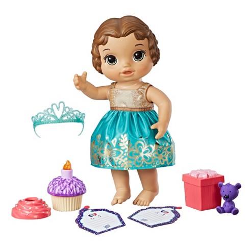 Baby Alive Cupcake Birthday Doll