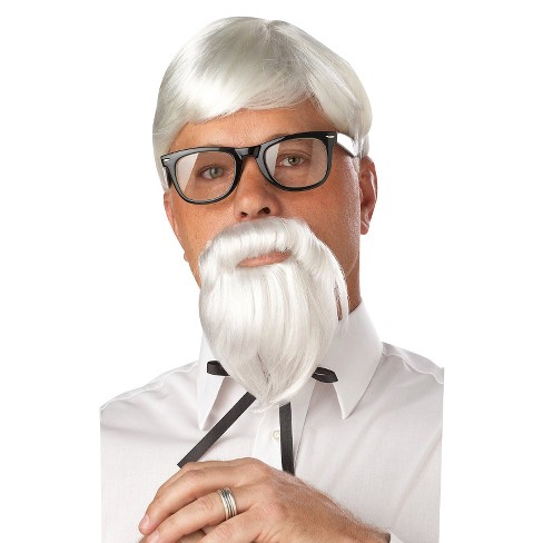 Men's The Colonel Wig White - image 1 of 1