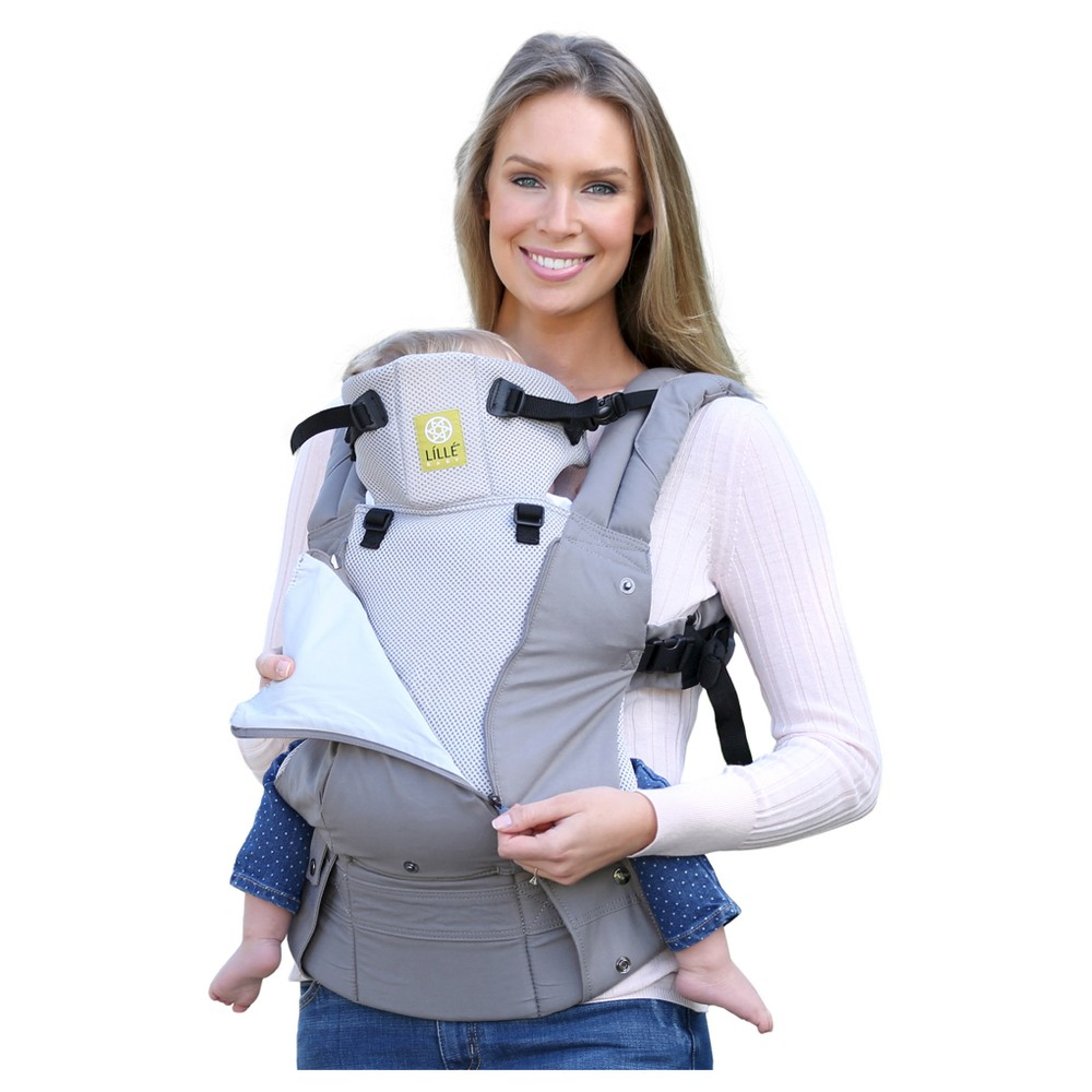 Image of LILLEbaby 6-Position COMPLETE All Seasons Baby & Child Carrier - Stone, Gray