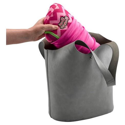 1d2d59e2cf6a3 BubbleBum Backless Booster Car Seat - Pink Chevron   Target