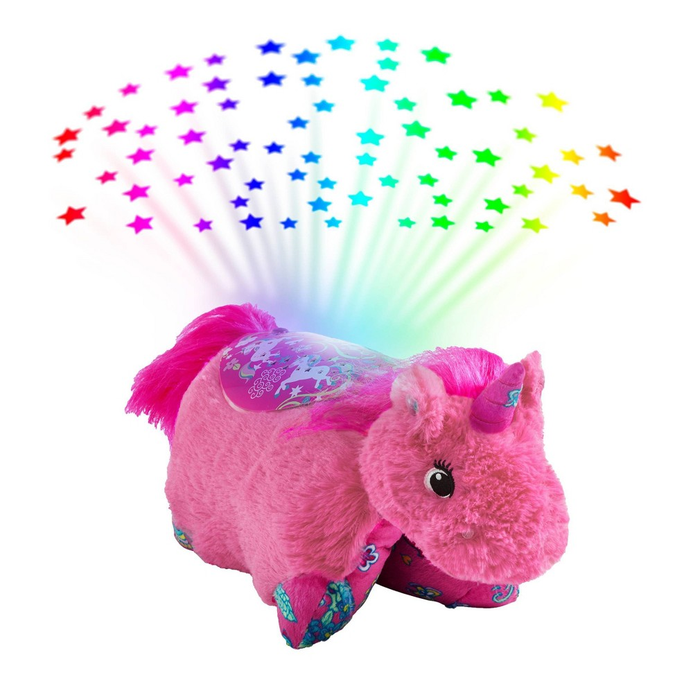 Image of Colorful Unicorn Sleeptime Lite Nightlight Pink - Pillow Pets