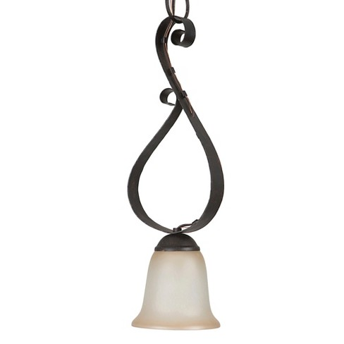 Yosemite 1-Light Mini Pendant - Bronze Patina - image 1 of 6