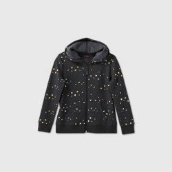 Girls' Printed Zip-Up Hoodie - Cat & Jack™