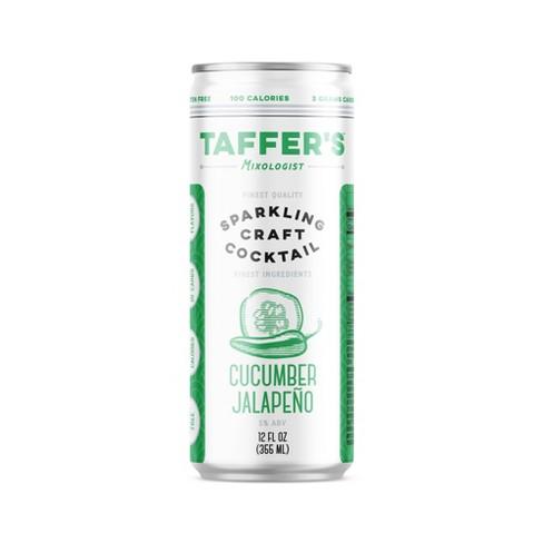 Taffer's Cucumber Jalapeno Sparkling Craft Cocktail - 12 fl oz Can - image 1 of 1