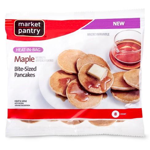 Mini Maple Frozen Pancakes Grab and Go - 3.1oz - Market Pantry™ - image 1 of 1