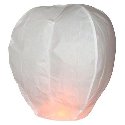 Sky Lanterns White 4 Ct Target