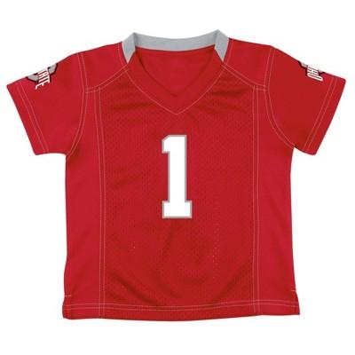 NCAA Ohio State Buckeyes Toddler Boys' Replica Jersey