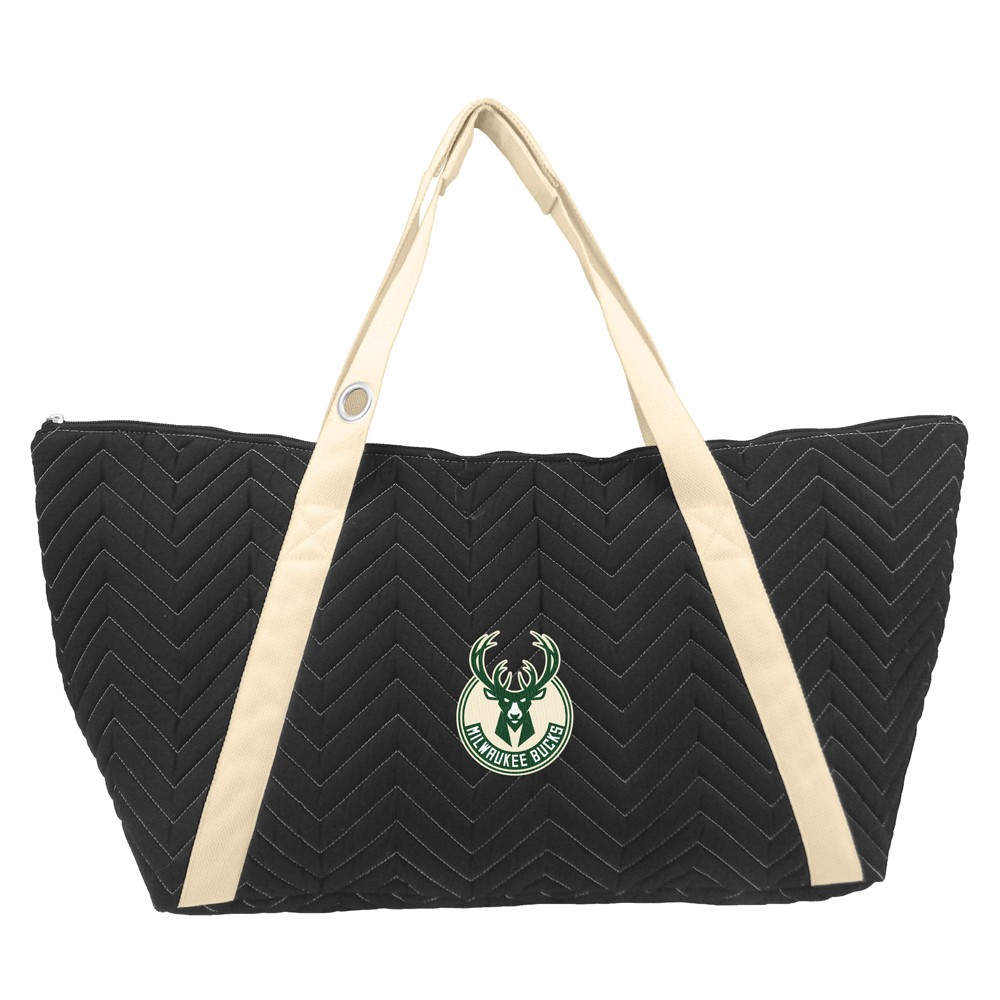 NBA Milwaukee Bucks Chev Stitch Weekender Bag