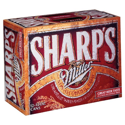 Sharps® Non-Alcoholic Beer - 12pk / 12oz Cans - image 1 of 1