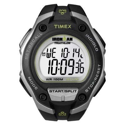 Men's Timex Ironman Classic 30 Lap Digital Watch - Black T5K412JT