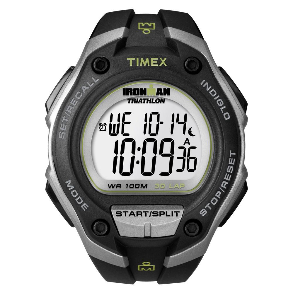 Men 39 S Timex Ironman Classic 30 Lap Digital Watch Black T5k412jt