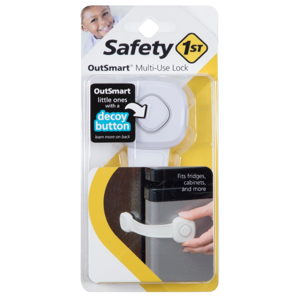 Image of Safety 1st OutSmart Multi-Use Lock White