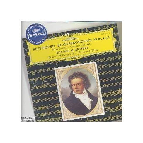 Beethoven - Beethoven:Piano Ctos 4 & 5 (CD) - image 1 of 1