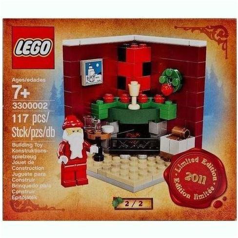 Lego Christmas.Lego Christmas Morning Exclusive Set 3300002 Set 2