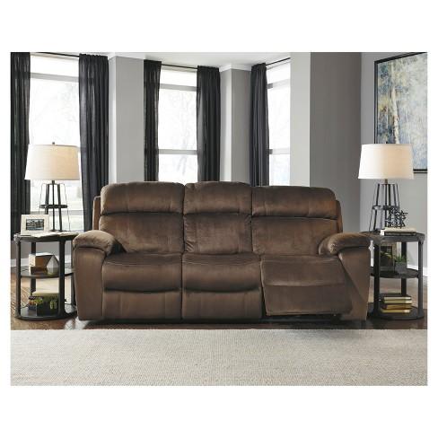 Uhland Power Reclining Sofa With Adjustable Headrest Signature