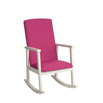 Kids' Rocking Chair with Fully Upholstered Seat and Seat Back - Gift Mark
