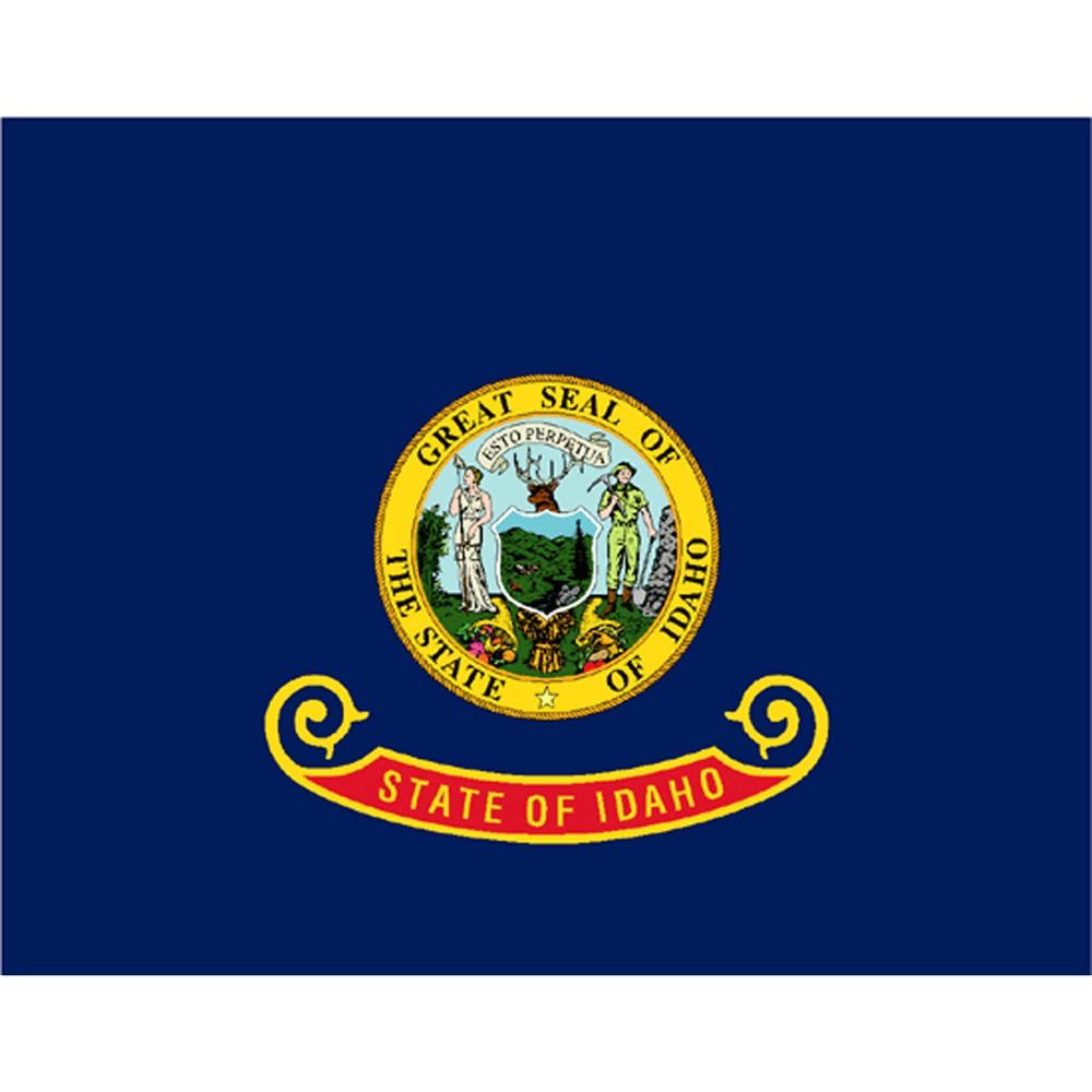 Image of Halloween Idaho State Flag - 3' x 5'