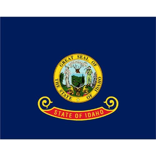 Halloween Idaho State Flag - 4' x 6'