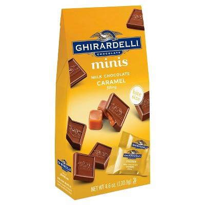 Ghirardelli Milk Chocolate Caramel Minis - 4.6oz