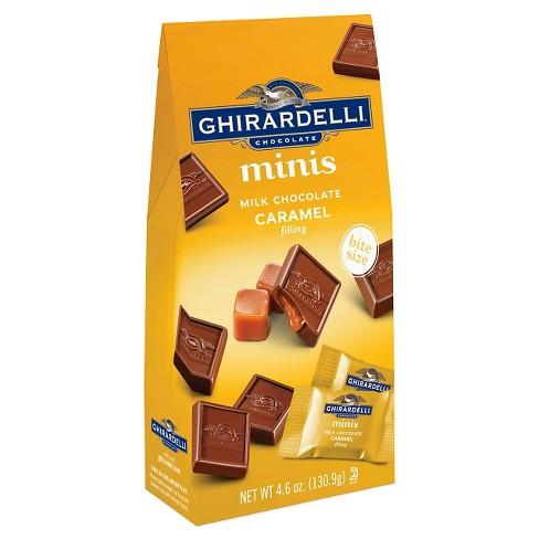 Ghirardelli Minis Milk Chocolate & Caramel Squares - 4.6oz - image 1 of 3