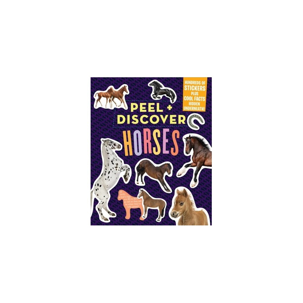 Horses - (Peel & Discover) (Paperback)